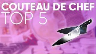 TOP5 MEILLEUR COUTEAU DE CHEF (2019)