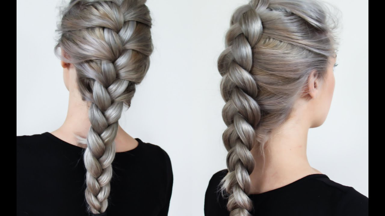 braiding styles - three strand
