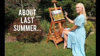 Leaving NYC and the Summer of Patience   A Painters Vlog 62