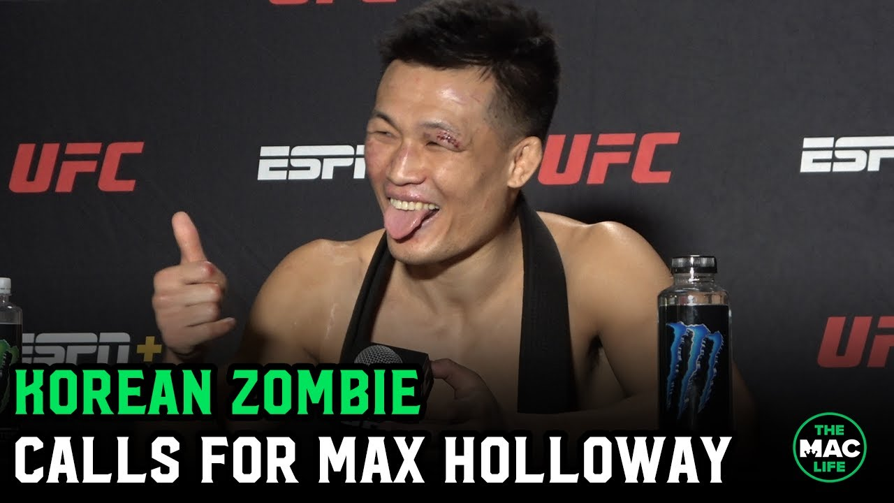 Korean Zombie: 'Max Holloway doesn't have punching power, but I do. I can beat him'