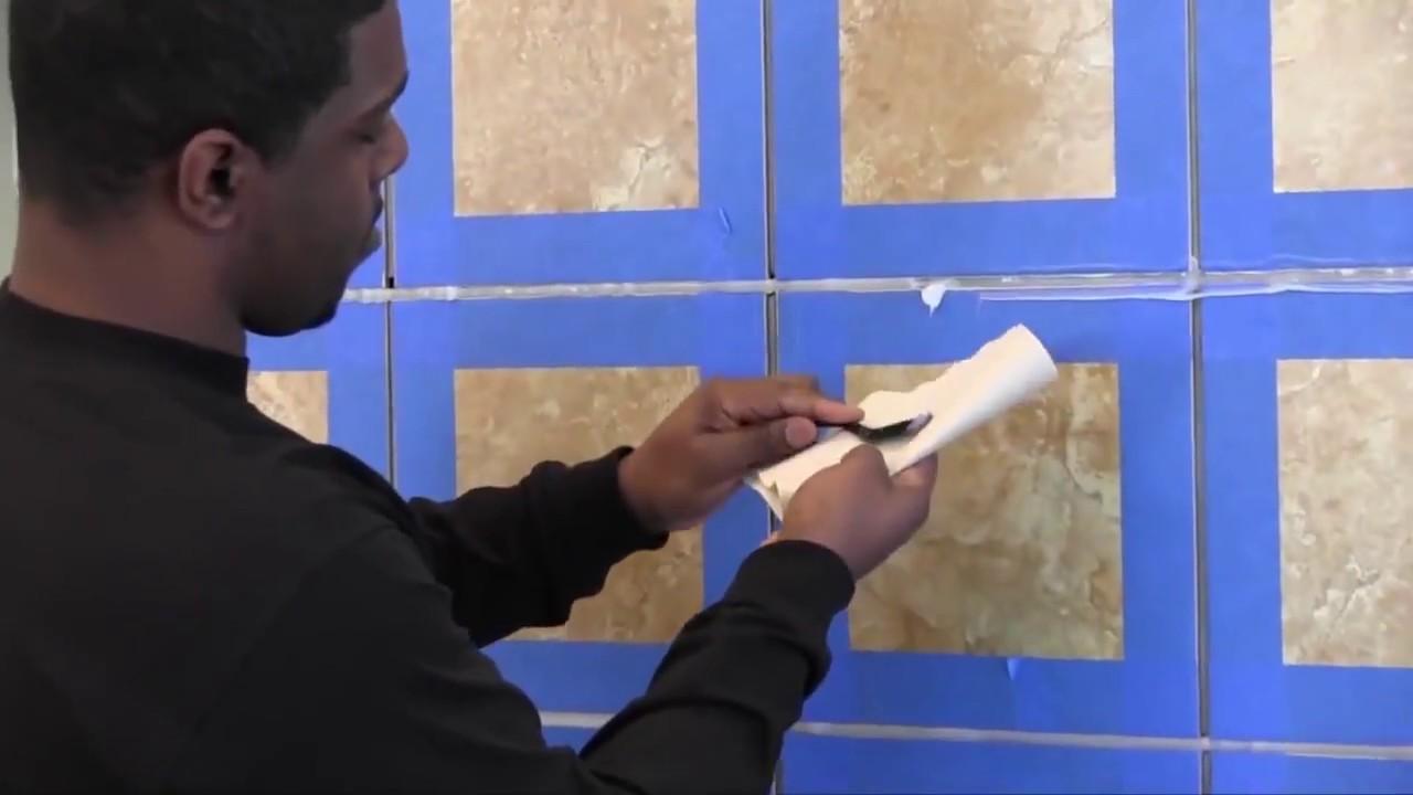 Latasil Tile and Stone Sealant Installation - YouTube