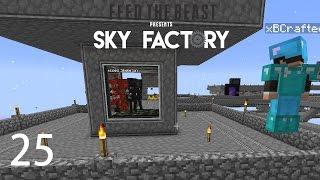 Sky Factory 3 w/ xB - WITHER SKELETON FARM [E25] (Minecraft Modded Sky Block)