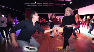 Salsa one girl two guys - Falken Party - Dance Vida