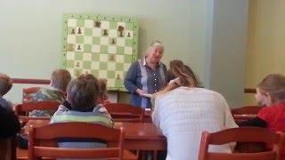 Занятие с гроссмейстером Л.С. Белавенец: ''Чемпионы мира по шахматам''