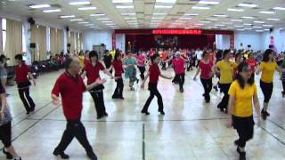Agua bendita line dance---幸福森巴
