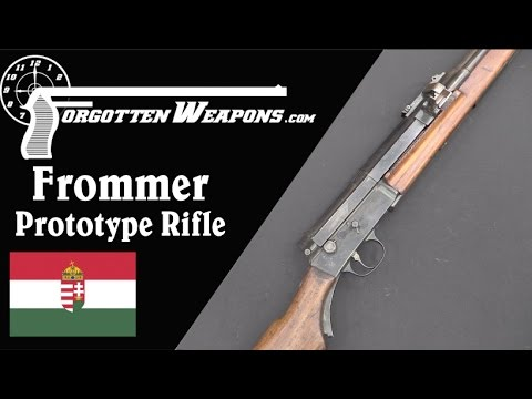 Frommer Prototype Semiauto Rifle
