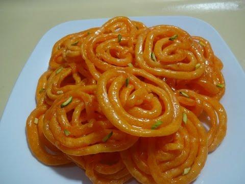 Crispy Crunchy Juicy Jalebi  Recipe without Yeast -  Instant Jalebi /Jelabib  طرز تهیه جلبی آسان