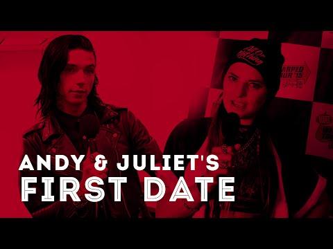 Andy Biersack & Juliet Simms' First Date