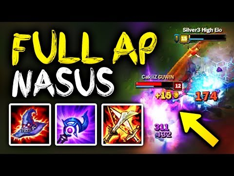 SirhcEz - FULL AP THUNDERLORDS NASUS = MASSIVE DAMAGE