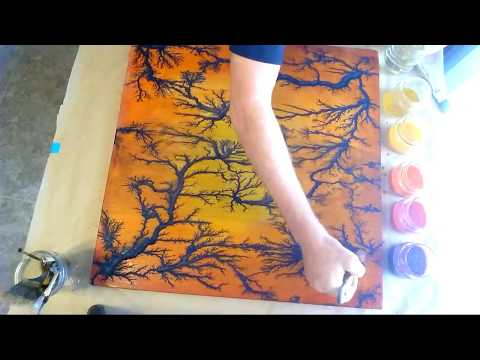 Adding Color To Lichtenberg Art - Livestream Video