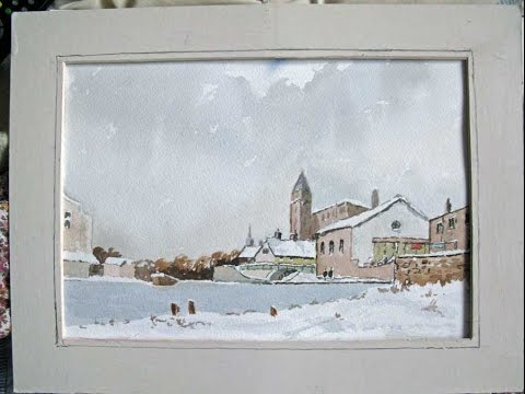 Watercolors by the canal  with Alan Owen