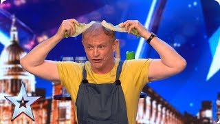 Copycat Tony Rudd leaves the best impression! | Auditions | BGT 2019