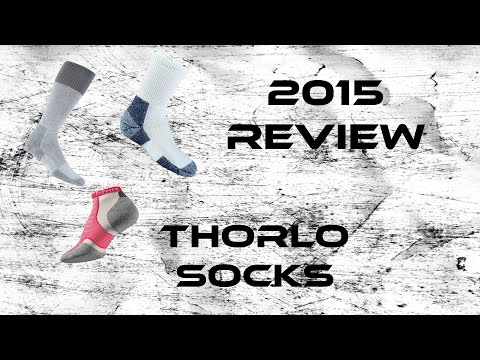 2015 Product Review: Thorlo Socks