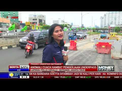 Underpass Matraman Ditargetkan Rampung Februari 2018