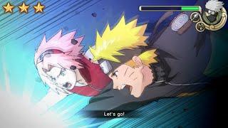 Naruto Shippuden Ultimate Ninja Impact Walkthrough Part 2 Kakashi Boss Battle (60 FPS)