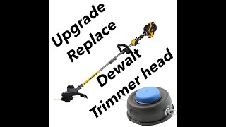 Replace Dewalt String Trimmer Head 20v 40v 60v | Upgrade weed eater bump feed Flexvolt
