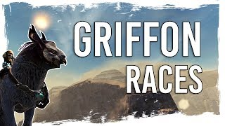 Guild Wars 2 Path of Fire - All Special Griffon Races - Expert and Master - Gold Chest Runs