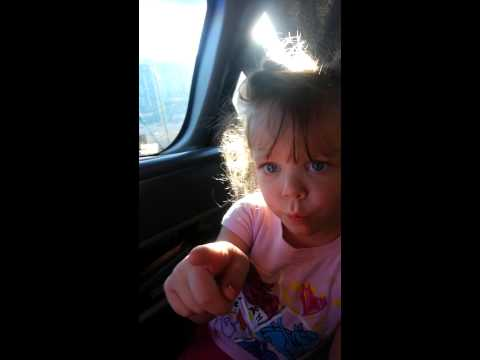 little girl thinks shes the boss