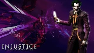 Injustice Gods Among Us: Jokers Story Part 1/2 { HD } [ PS4