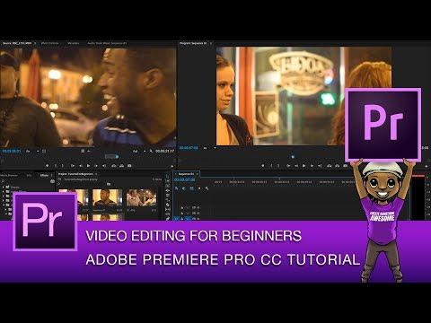 Getting Started in Adobe Premiere Pro CC Tutorial