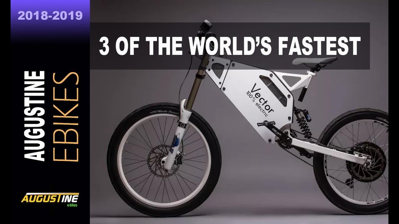 Fastest E Bike >> 3 Of The World S Fastest E Bikes Vector Wolverine Blacktrail