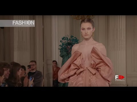 VALENTINO Haute Couture Spring Summer 2018 Paris - Fashion Channel