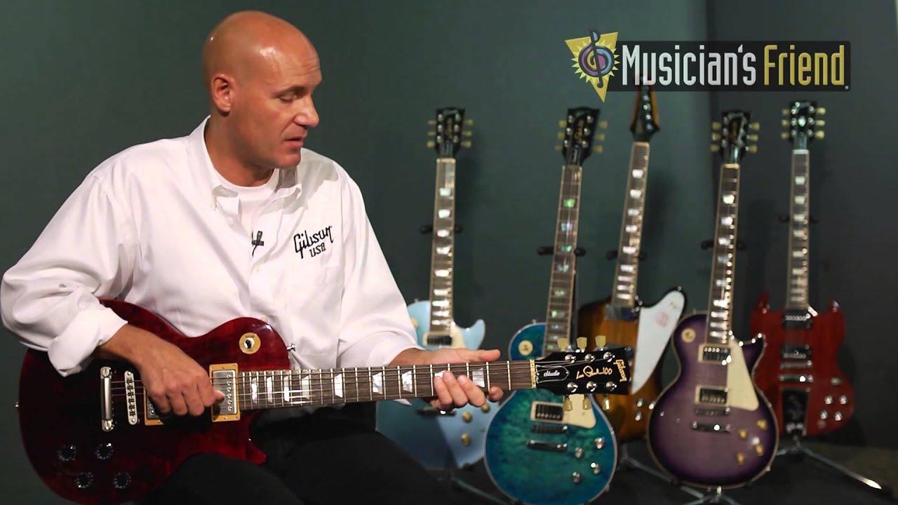 gibson 2015 les paul studio electric guitar youtube. Black Bedroom Furniture Sets. Home Design Ideas