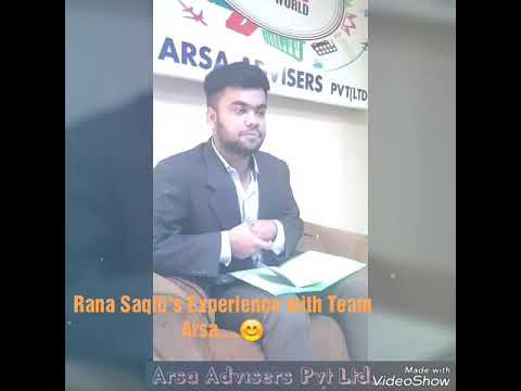 Reviews of Student regarding Arsa's Team response & Work, (Study Abroad Consultancy).