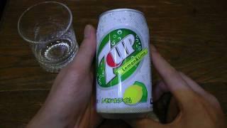 7UPレモン&ライム 炭酸飲料