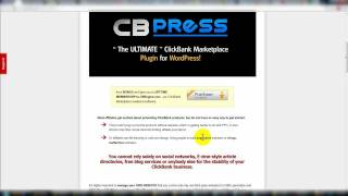 CB Press Review Overview Video - CBPress Clickbank WP Plugin - Clickbank Wordpress Plugin Review.mp4
