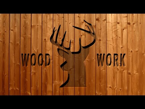 Photoshop Cutting Wood Text Effect Tutorial
