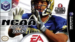 Longplay of NCAA Football 2005