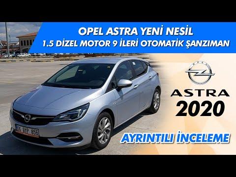 Yeni Opel Astra 2020 Model 1 5 Dizel 9 Ileri Otomatik Inceleme Ve Test Videosu Youtube