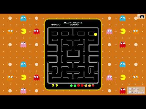 Playing Pacman On Nintendo Switch Namco Museum Arcade Pac