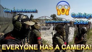 YOUTUBERS vs TRYHARDS!! Fairfield Extreme Sports Airsoft Event
