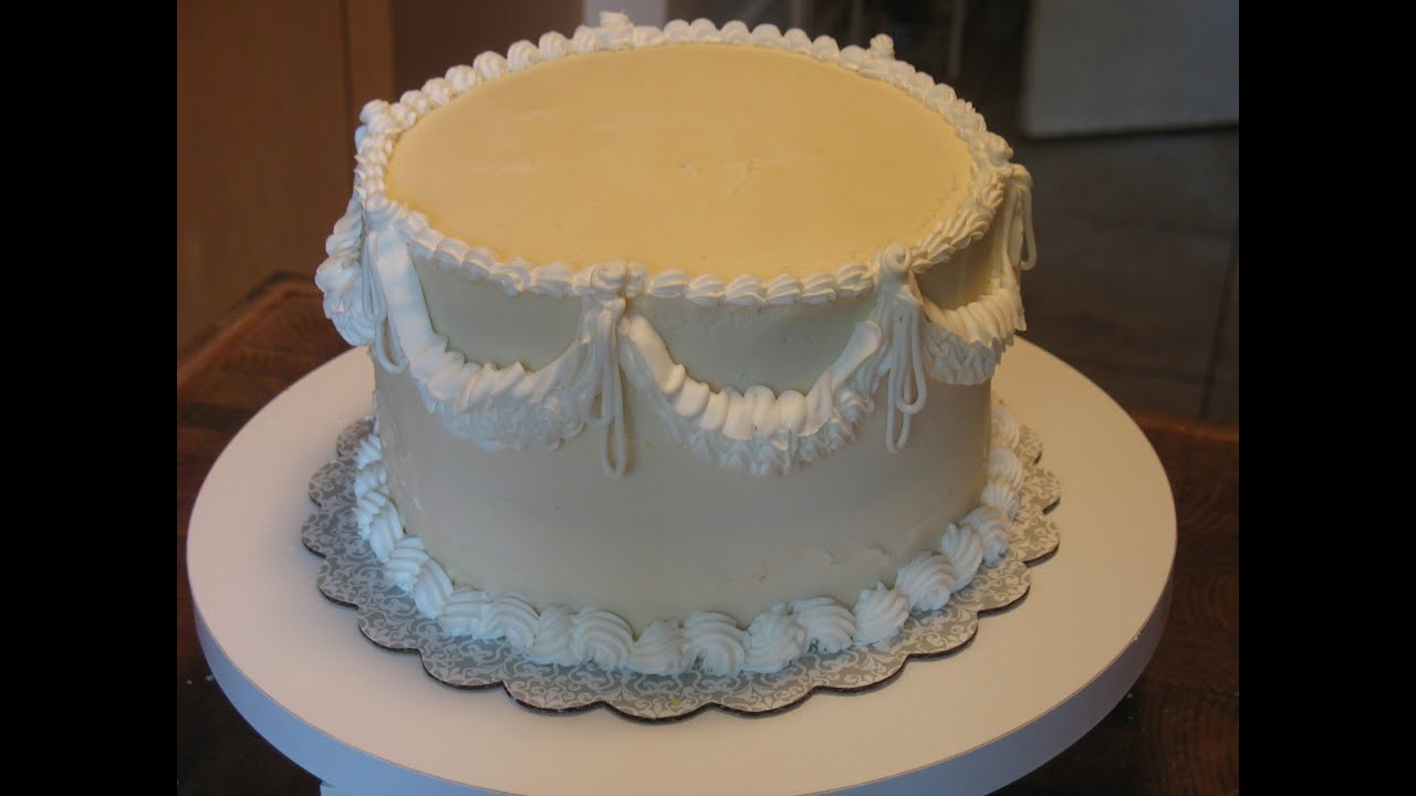 White Icing For Cake Decorating