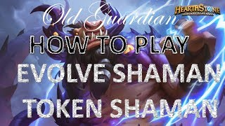 Evolve Shaman / Token Shaman is still good in Kobolds and Catacombs (Hearthstone deck)