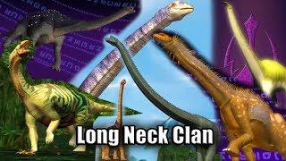Long Neck Clan Dinosaur - Dinomaster
