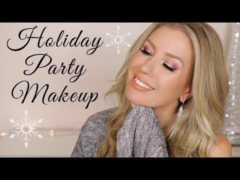 Beautiful Wearable Holiday Makeup 2019 | Risa Does Makeup thumbnail