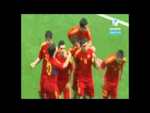 Казахстан Армения U-21. Отборочный матч Чемпионата Европы 2015 HD
