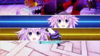 PS4 60 FPS Shin Jigen Game Neptune Victory 2: Adult Neptune all Attack skills/EXE moves