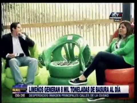 ATV - Reportaje a la Planta de Reciclaje de la Municipalidad Santiago de Surco.