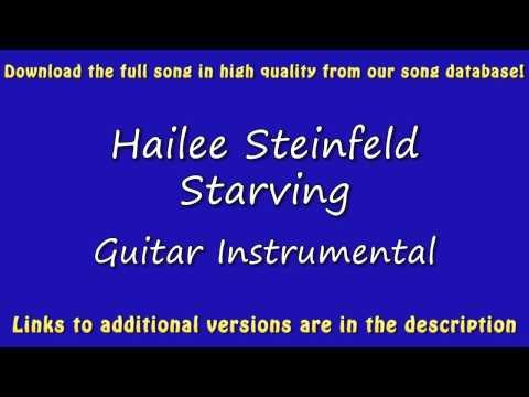 Hailee Steinfeld - Starving (Acoustic Karaoke)