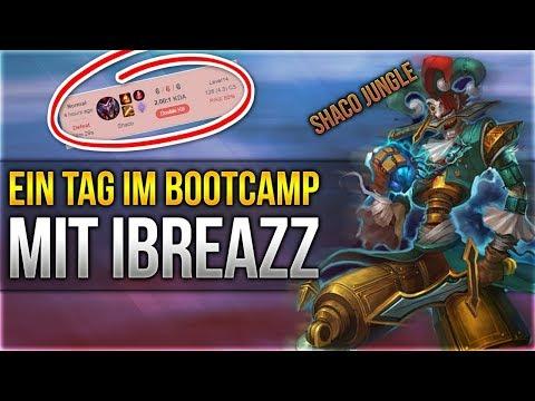 Ein Tag im Bootcamp mit iBreaZz [League of Legends] [Deutsch / German]