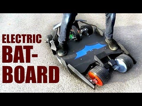 Building a Batman Electric Skateboard #3   XRobots