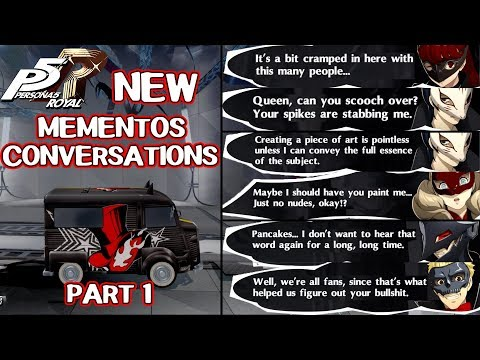 New Mementos Conversations Part 1 - Persona 5 Royal