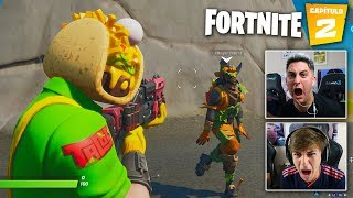 XBUYER vs MINIBUYER en FORTNITE CAPÍTULO 2