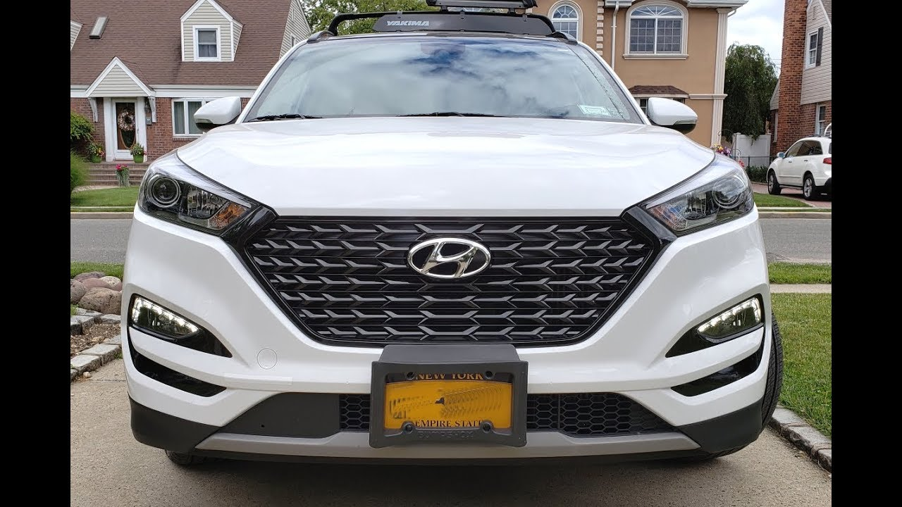 2017 Hyundai TUCSON - Front Grill modification review
