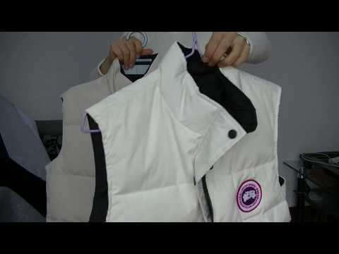 Canada Goose Freestyle Vest White Women Size Review