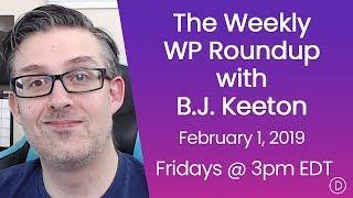 الأسبوعية WP تقرير اخبارى مع B. J. كيتون (15 فبراير 2019)